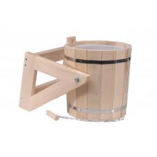 Обливное устройство(русский душ) 16л (липа) с пластиковой вставкой