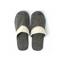 Тапочки для сауны мужские войлочные комбинированные