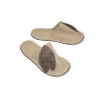 Тапочки для сауны женские войлочные