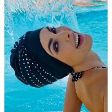 Шапочка для бассейна на липучке полиэстер100% Fashy 3459 купить оптом