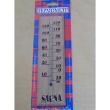 """Термометр спиртовой ТСС-42 ( 4 х 22 ) см  """"Сауна""""  в блистере купить оптом"""