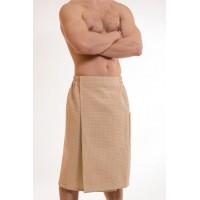 Килт мужской вафельный ЭКО с кантом и карманом