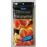 "Мочалка для тела мягкая с витамином С ""Грейпфрут""  (Япония)"