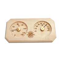 Термогигрометр для бани SAWO 241 8-угольный