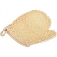 Мочалка рукавица из сизаля двухсторонняя натуральная HB-D