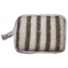 Мочалка - подушечка Сатис из рами 0205 10х14см