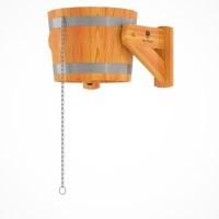 Обливное устройство (русский душ) 20л  из дуба с пластиковой вставкой (Краснодар)