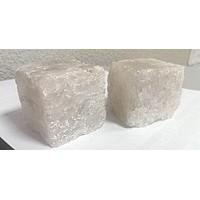 Cоль для бани природная с маслом эвкалипта кубик 200г