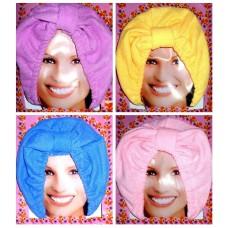Чалма-шапочка из микрофибры для сушки волос.