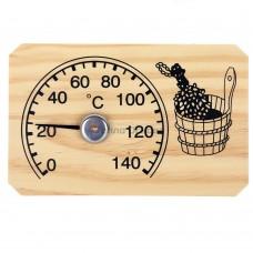 Термометр биметал. прямоугольный арт.СБО-2т в коробочке