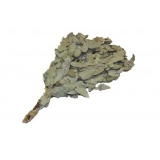 Веник для бани из серебристого эвкалипта в упаковке
