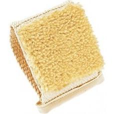 Мочалка-варежка массажная, с щетиной из сизаля, односторонняя (Германия) №110