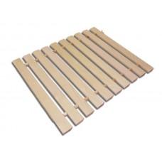 Коврик для бани деревянный (липа) М13
