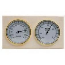 """Термогигрометр для бани СББ """"очки"""" в коробочке"""