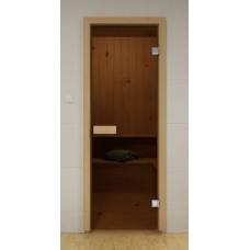 Дверь (Бронза / Серая). Габариты по коробке 690 x 1890 мм.