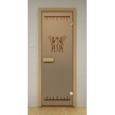 """Двери с матировкой """"Фараон""""(Бронза/Серая/Синяя).Габариты по коробке 690х1890 мм."""