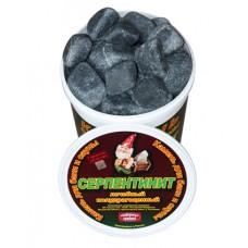 Камни серпантинит шлифованный 10кг
